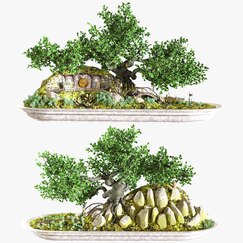 tree vase model