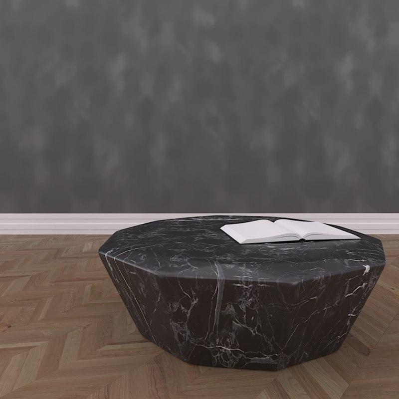 coffee table diamond 3D model