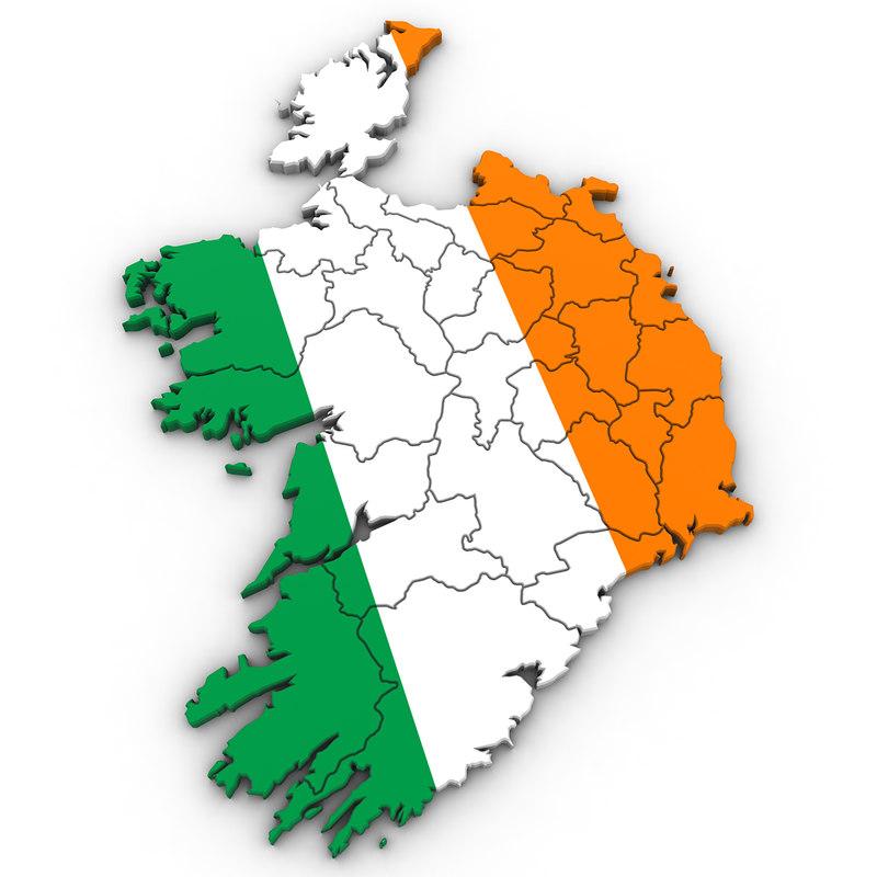 3D ireland irish