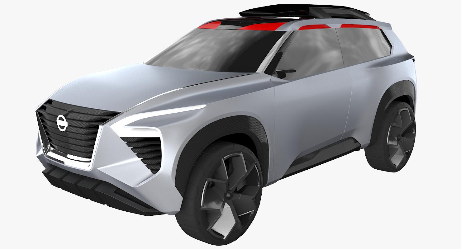 3D nissan xmotion model