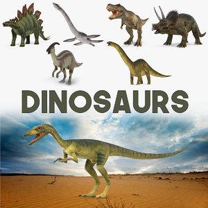 dinosaurs 2 3D model