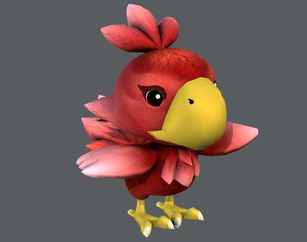3D bird model