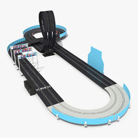 Toy Racing Car Track Generic