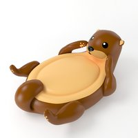 3D inflatable otter
