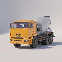 3D truck mixer tuymazy