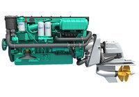 penta marine engine model