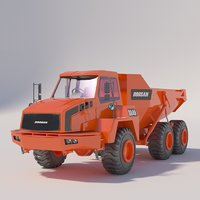 Articulated dump truck series DOOSAN DA30