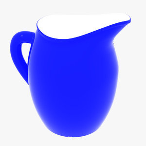 ceramic jar 3D model