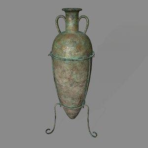 3D vase 1 model