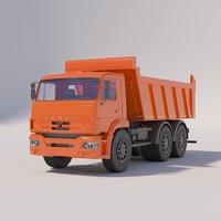 KAMAZ Dump Truck 6520-6012-43