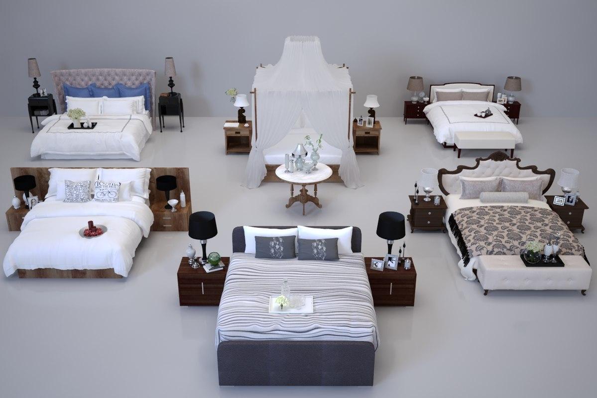 3D beds interior