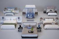 beds interior 3D model