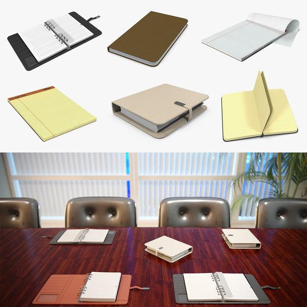 3D writing journals