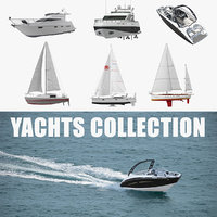 yachts 3 3D model