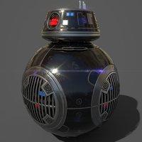 droid bb-9e 3D model
