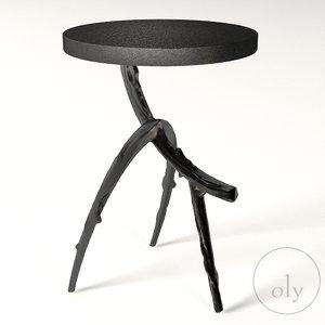 3D oly studio fox table