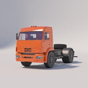 tractor kamaz-5460-26066-73 3D