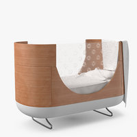 3D bassinet cradle bed