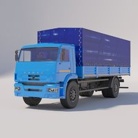 Truck cranes - IVANOVETS KS-45717K-3R OVOID on chassis KAMAZ-43118