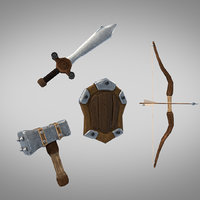 weapons arrow 3D