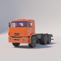 chassis - kamaz-43118-3078-46 model