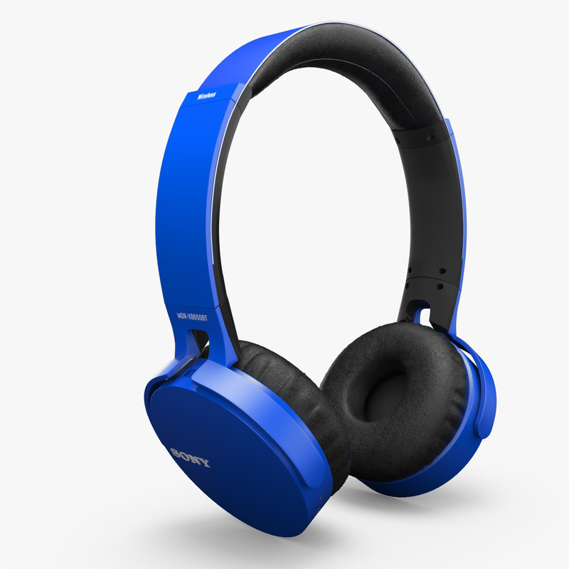 sony headphone 650 3D model