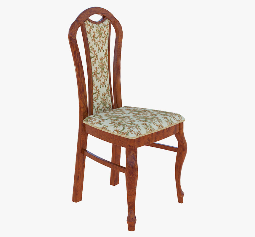 chair modeled fabric 3D