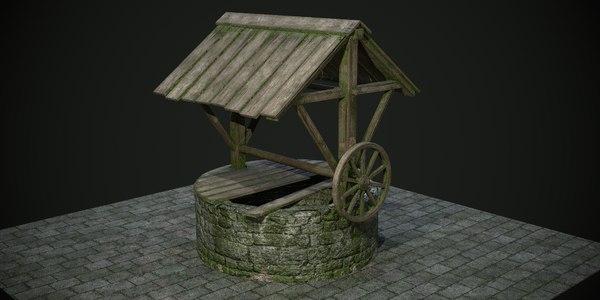 ancient stone games 3D model