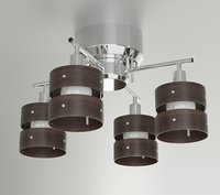 3D living room ceiling light