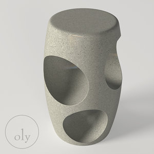 oly cosmo stool 3D model