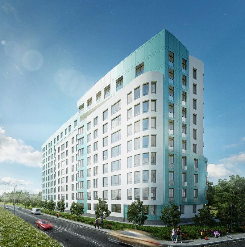 3D modern apartment