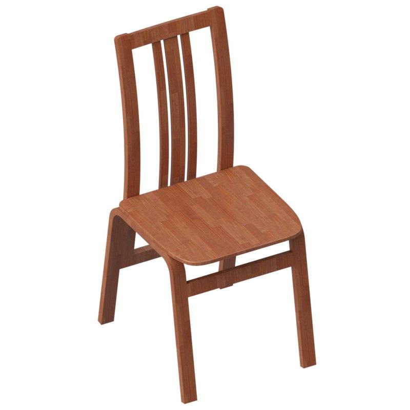 chair v-ray model