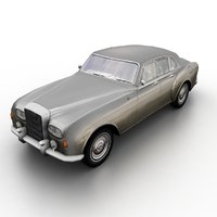 1963 bentley continental flying 3D