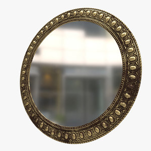 mirror frame 3D model