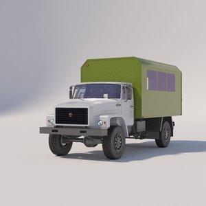 truck buses model