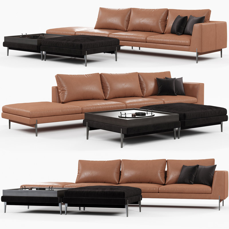 ditreitalia kim sofa 3D model