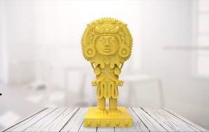statue 01 3D model