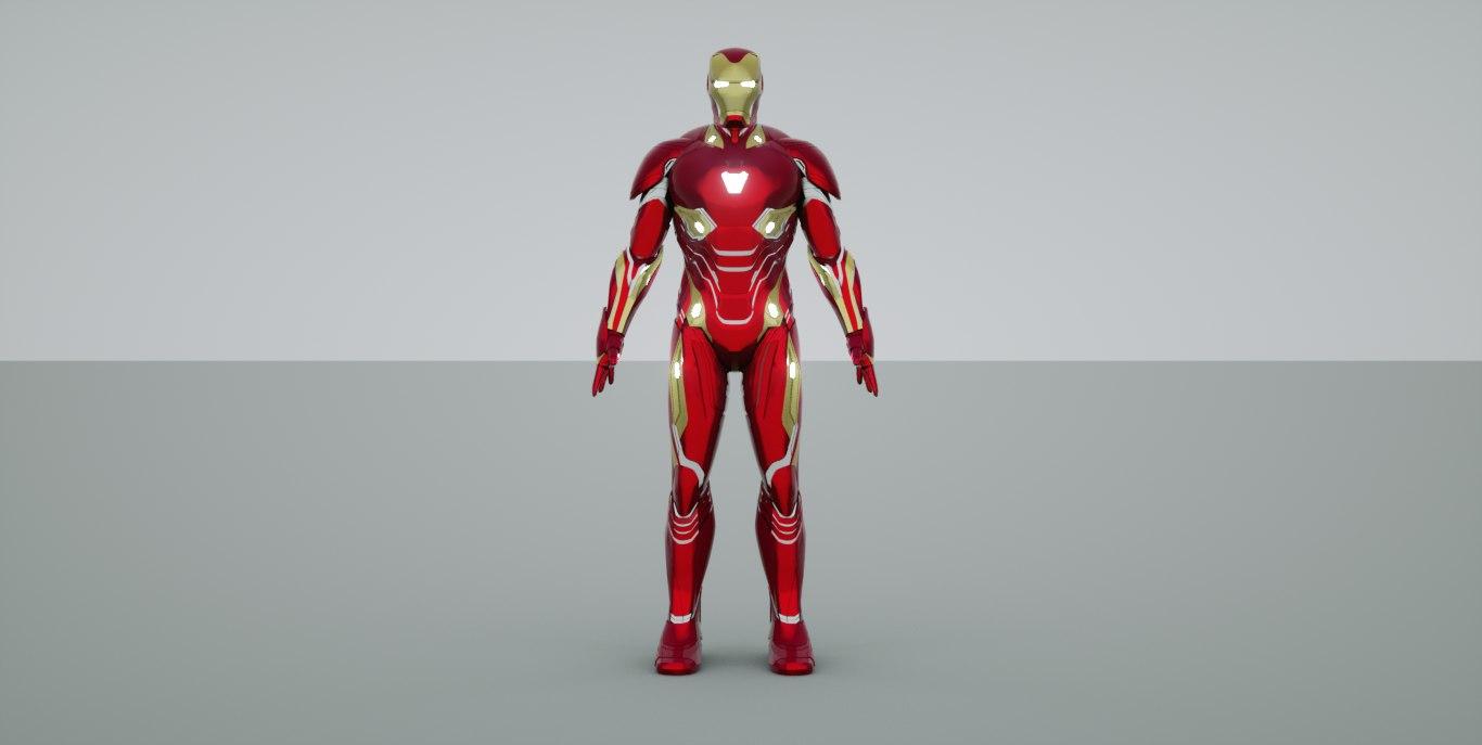 3D iron man mark 48