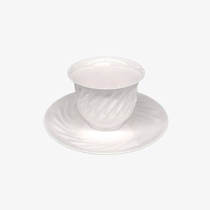 tumbler saucers model