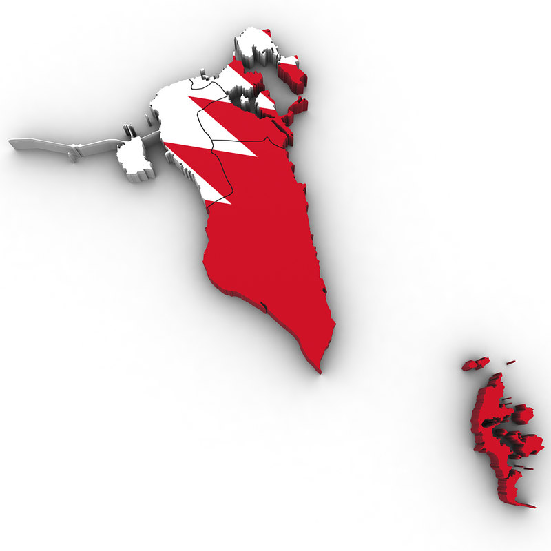3D bahrain regions