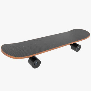 skateboard skate board 3D