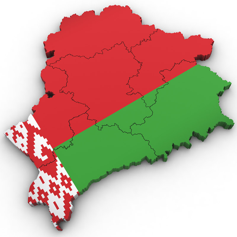 belarus country 3D model