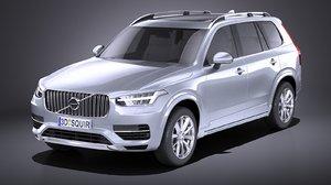 3D 2015 xc90 r-design model