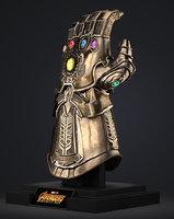 Thanos Infinity Gauntlet - Avengers Infinity War