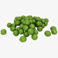 realistic small lime pile 3D