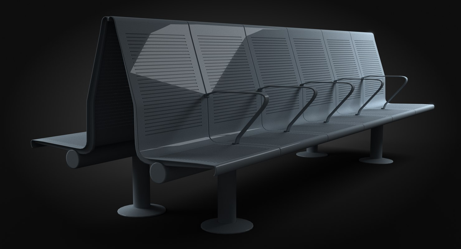 seating public 3D model