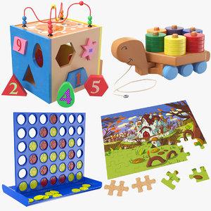 kids toys 3D
