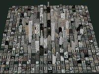 3D city building s