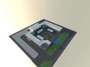 design block architecture 3D model