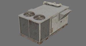 rooftop ac unit 1b 3D model